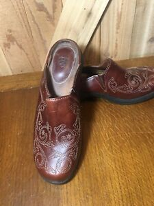 Ariat Leather Mules  Style #21486 Brown Women's Size 9 B