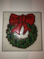 Arius Art Tile With Christmss Wreath