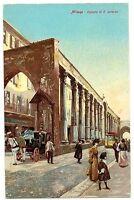 CPA Italie Lombardie Fantaisie Milan Colonne di S. Lorenzo animé  postcard