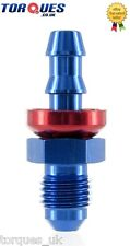 """AN -4 (AN4 7/16"""" UNF) STRAIGHT Male Push-On Hose Fitting"""