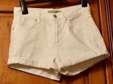 Topshop Rosa White Shorts Size 8