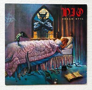DIO . dream evil LP  1.Press 1987 Black Sabbath Judas Priest Motörhead Metallica