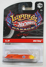 Hot Wheels LARRY'S GARAGE WILD THING REAL ORANGE RIDERS 1:64