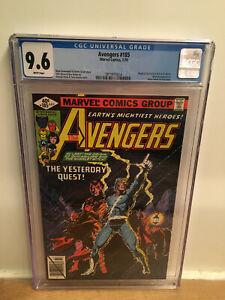 Avengers #185 CGC 9.6 White Origin of Quicksilver Scarlet Witch