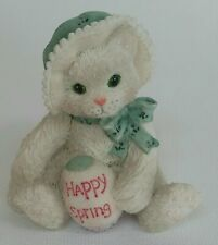Calico Kittens 1994 Happy Spring Enesco Figurine 102687 Pre-Owned