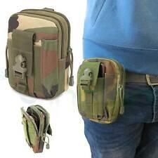 Custodia borsa marsupio sacchetto cintura MIMETICA MILITARE per Smartphone CFG1