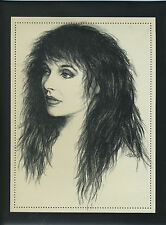 Kate Bush Limited Edition Lithograph For Rubberband Girl  *NO CD - ART ONLY* NEW