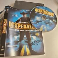 Stephen Kings Desperation DVD Signed By Mick Garris