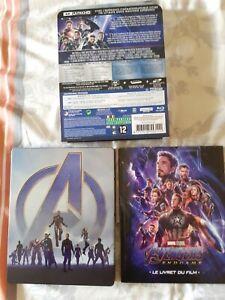 Avengers endgame Steelbook 4K Edition Spéciale Fnac Comme neuf