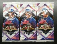 2020 Topps Fire Baseball Cello Fat Pack 12 Card Packs 3x Pack Lot