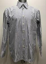 Hugo Boss Botton Down Stripes Men Long Sleeve Size 43/17 XLarge
