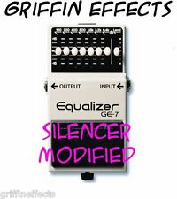 Boss GE-7 Equalizer - Griffin Effects Modified - Silencer Modified - Brand New!
