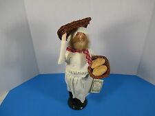 Byers Choice Carolers 1992 Cries of London Baker Bread Loaves Signed Tag BC1
