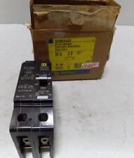 Square D 20A 480V 2 Pole Circuit Breaker Edb24020 (Box)