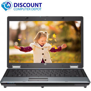 "HP EliteBook Laptop 14"" Intel i5 Dual Core 2.4GHz 8GB RAM 250GB Windows 10 WiFi"