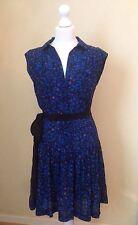 Collar Casual Sleeveless Viscose Dresses for Women