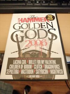 The Metal Hammer Golden Gods 2006 DVD 15 Killer Videos - lacuna coil clutch RARE
