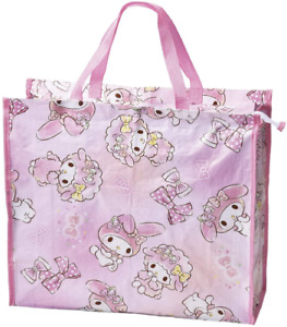 JAPAN SANRIO My Melody Friend Pink Rabbit Leisure Bag EXTRA LARGE Tote School