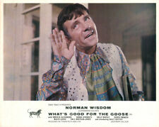 What's Good For The Goose Original Lobby Card Front of House Norman Wisdom