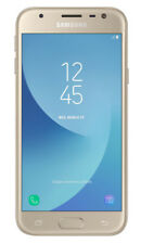 Téléphones mobiles dorés Samsung Galaxy J3 4G