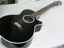 neuwertige Gitarre Wandergitarre Konzertgitarre Takamine EF 261 S BL Tonabnehmer