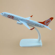 16cm Airplane Model Plane Air Brazil GOL Airlines Boeing 737 B737 Aircraft Gift