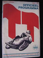 Program Dutch TT Assen 29 juni 1968 (TTC)