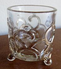 Westmoreland Filigree Estate Capital Glass Toothpick Holder c1900