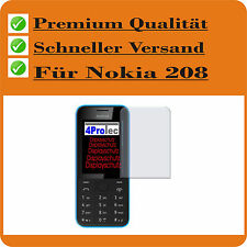 2x Nokia 208 Dual SIM Ganador De Pruebas Lámina protectora pantalla