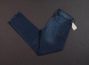 BANANA REPUBLIC Cotton Blend Dark Washed Indigo Skinny Jeans NEW NWT