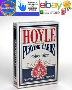 Carte Da Gioco Bicycle Hoyle Poker Standard Mazzo Blu 🤩🤩