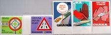 GHANA 1974 572-76 B 530-34 Rechtsverkehr Traffic Verkehr Right Hand Drive MNH