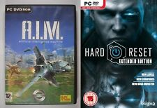 A.I.M. Artificial Intelligence Machine & Hard Reset  Extended Edition new&sealed