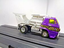 Custom Auto World Cabover Dodge L600 Truck. Nhra, 4 Gear Ho Slot Car, Aurora Afx
