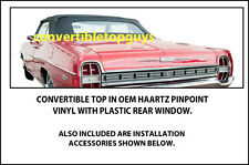 FORD GALAXIE 500 CONVERTIBLE TOP-DO IT YOURSELF PKG 1967-1968