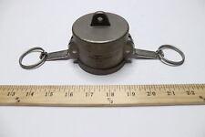 Pt 20v Stainless Steel Cam Groove Lock Coupling Dust Cap