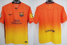 2012-2013 FC Barcelona Barca Jersey Shirt Camiseta Away Qatar Foundation Nike S