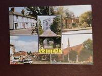 G1a postcard unused ashtead views