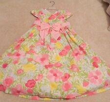 Gymboree Pretty Posies Flower Open Back Dress For Summer Wedding 10 EUC (Sister)