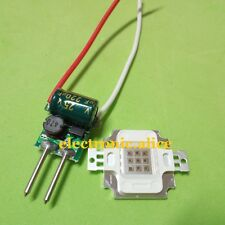 10W Infrared IR led chip 850nm 1pcs + 1PCS MR16 3x3w 600mA diver kit For DIY
