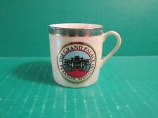 Small Souvenir Porcelain Tea Cup Advertising The Grand Palace, Branson, MO