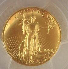 2009 Gold $20 Ultra High Relief PCGS MS70 Double Eagle Coin Twenty Dollars