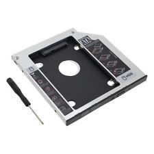 Apple Macbook Pro Unibody 2nd HDD SSD SATA Bay Hard Drive Caddy Optical Bay US