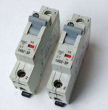 Allen Bradley Circuit Breaker 7amp 1492-Sp1C070 Ser. C Set of 2
