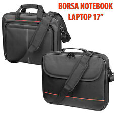 "VALIGETTA CUSTODIA BORSA PORTA DOCUMENTI PC COMPUTER PORTATILE NOTEBOOK 15"" 17"""