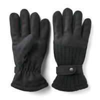 Van Heusen Men Fleece Lined Wool Blend Gloves