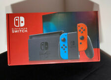 Genuine Original Nintendo Switch Box Only, all inserts Blue and Red version