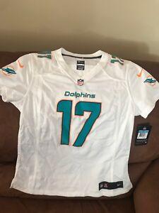 Nike Miami Dolphins Ryan Tannehill White Football Jersey NWT Size M Women