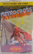 Metrocross (Kixx) Spectrum 48k (Tape) (Game, Verpackung, Manual)