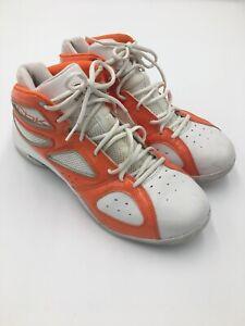 Mens RBK Reebok 3600 Orange And White Size 9.5